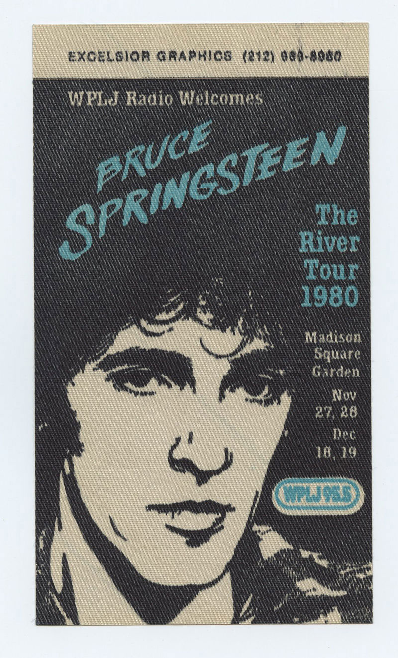 Bruce Springsteen Backstage Pass The River Tour 1980