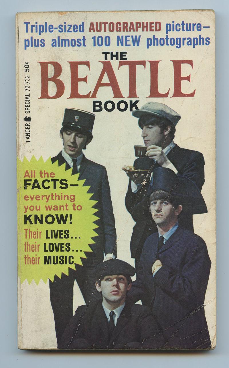 The Beatles Book 1964 Paperback Lancer Book