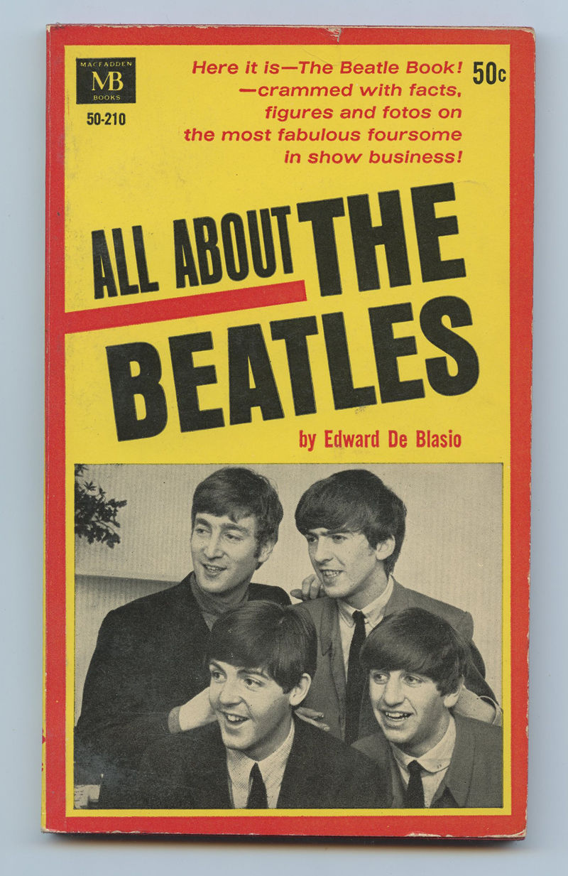 The Beatles Book All About The Beatles 1964 Paperback
