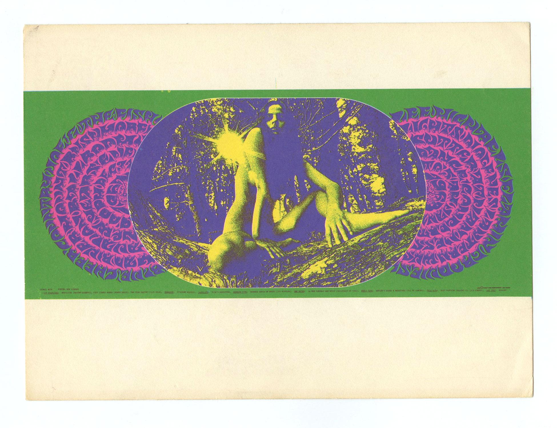 FD  99 Postcard Blue Cheer Lee Michaels 1967 Dec 31