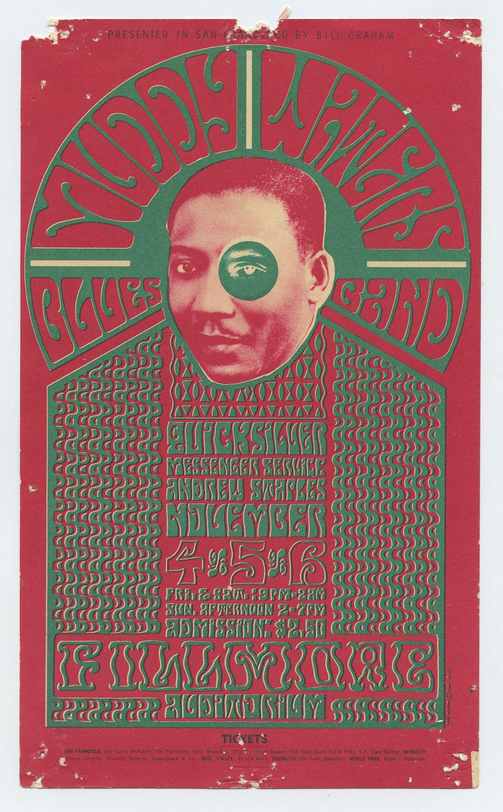 BG  35 Handbill Muddy Waters 1966 Nov 3