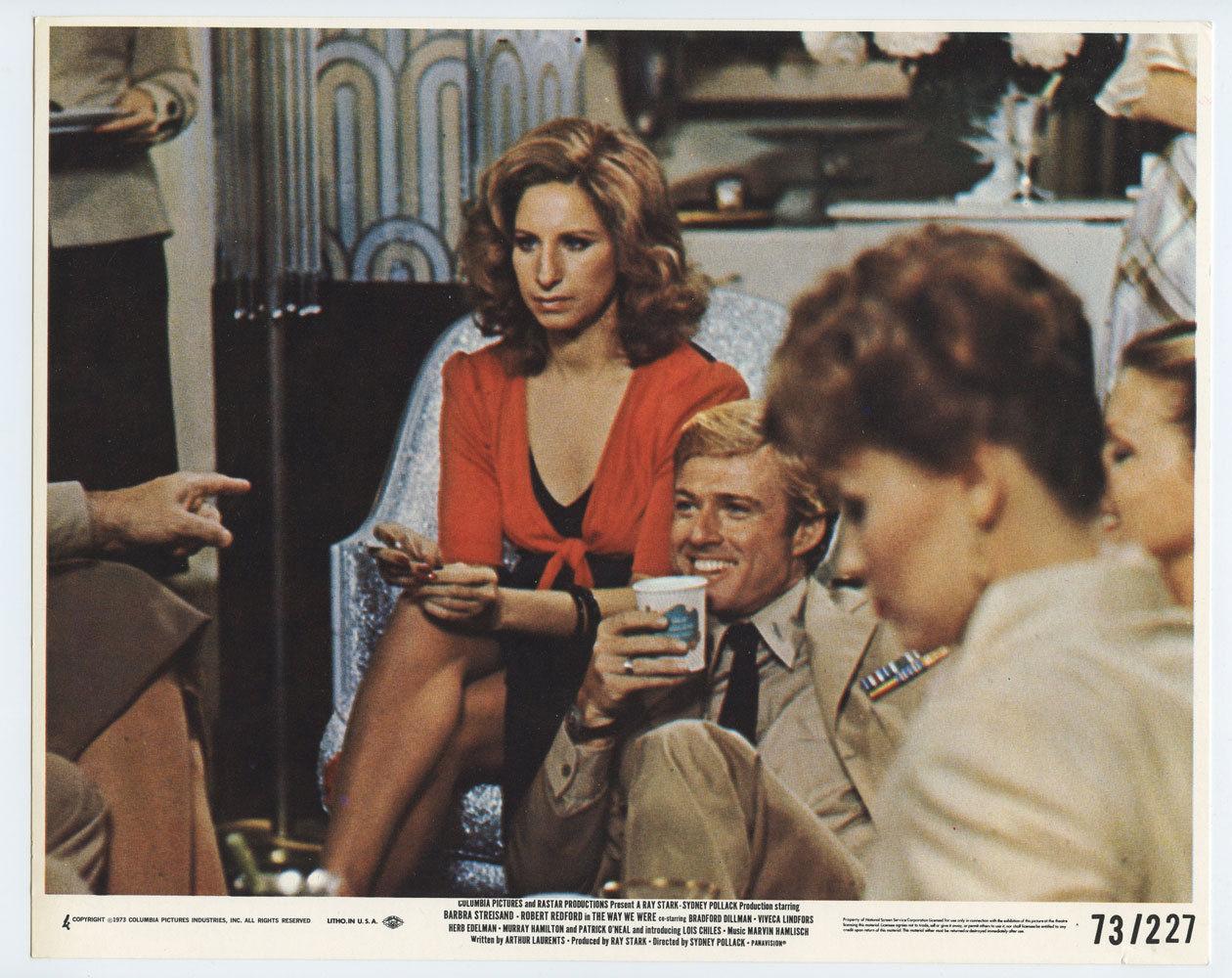 Barbra Streisand Robert Redford Photograph 1973 The Way We Were Original Vintage