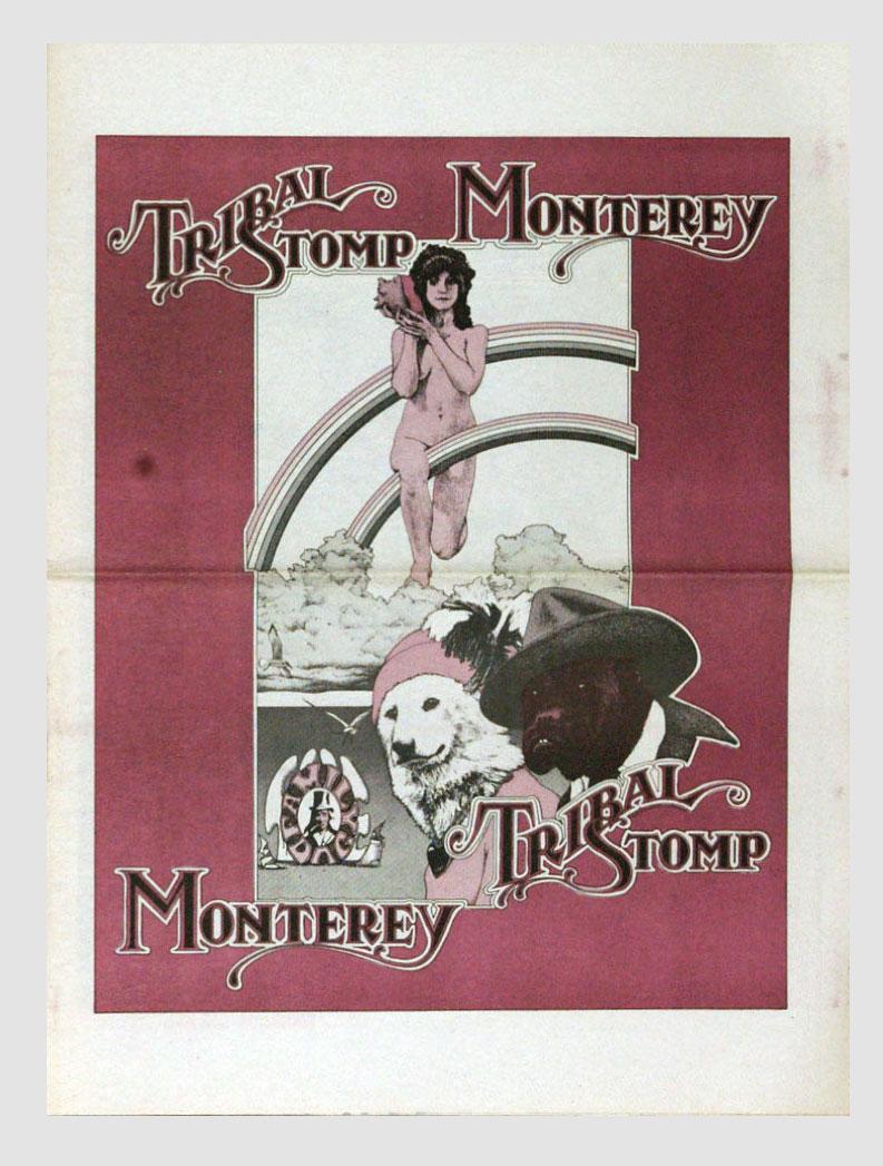 Tribal Stomp Program 1979 Sep 8 The Clash Canned Heat Country Joe Monterey