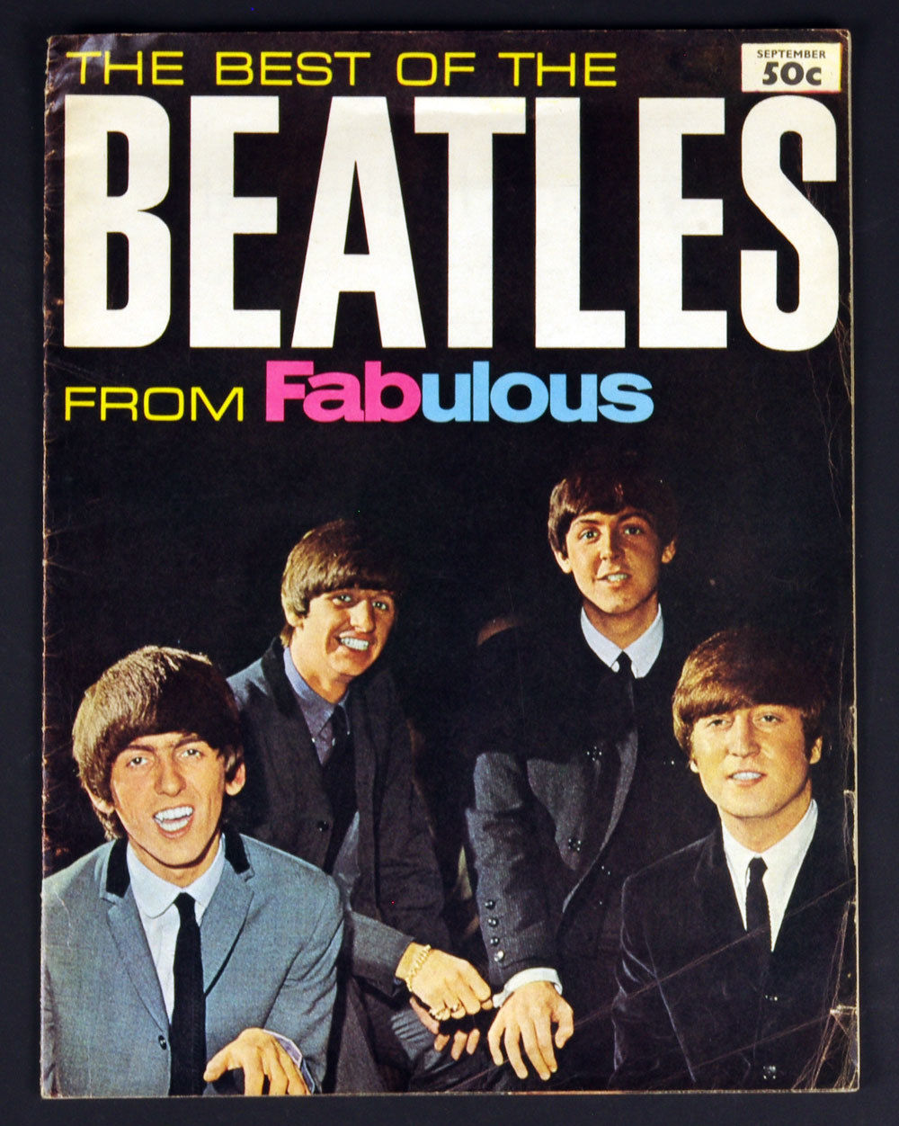 The Beatles Book The Best Of The Beatles From Fabulous 1964 Sep
