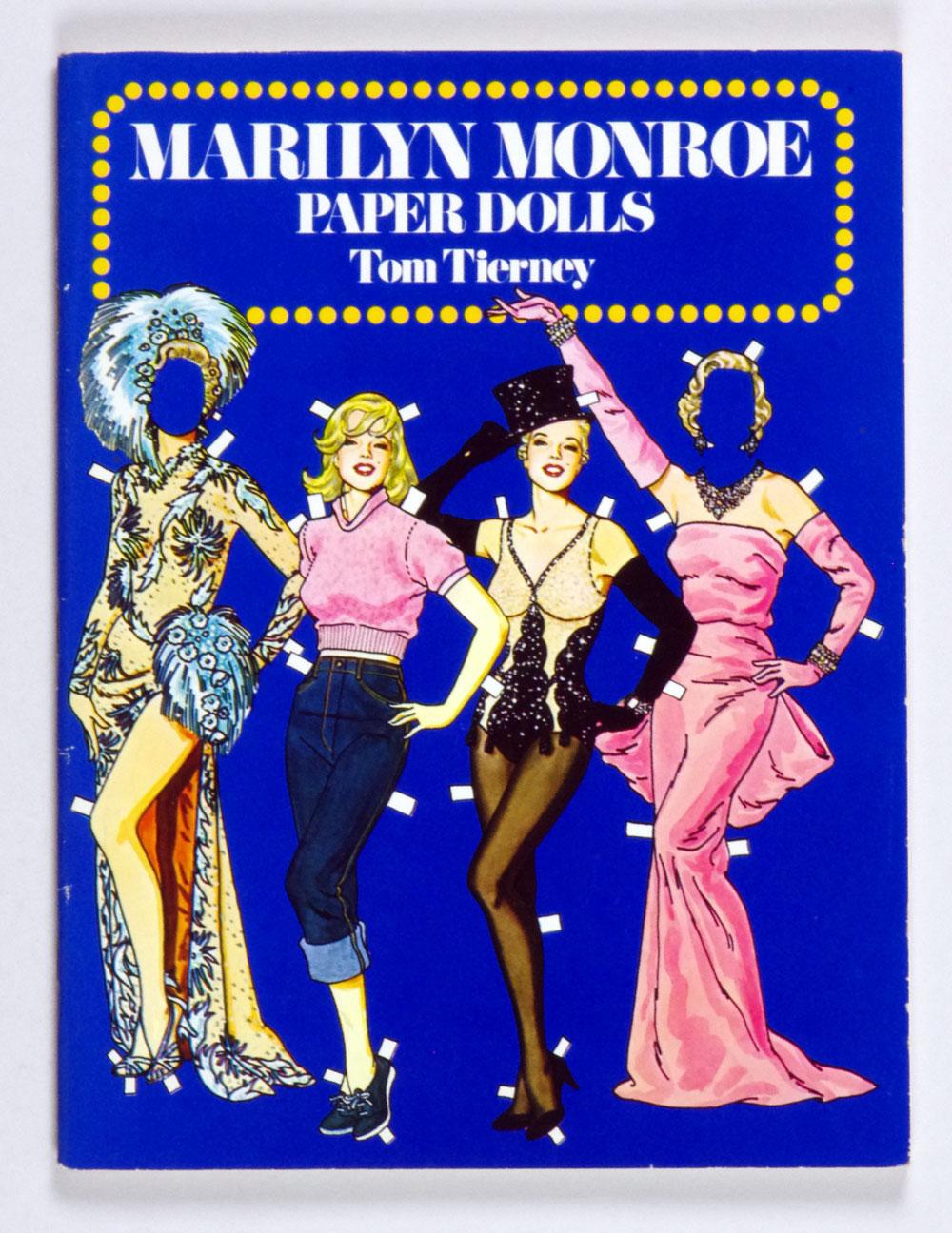 Marilyn Monroe Book Paper Dolls in Full Color 1979 Tom Tierney