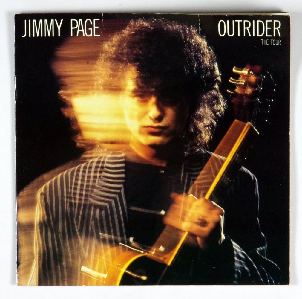 Jimmy Page 1988 OUTRIDER Tour Program Book