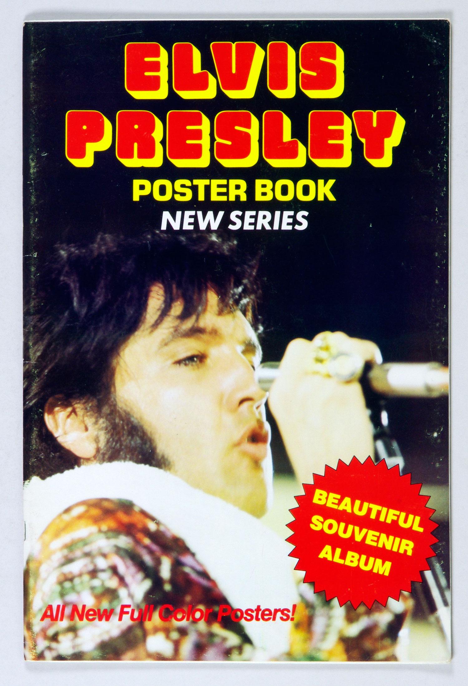Elvis Presley Poster Book 1977 New Series 20 Posters