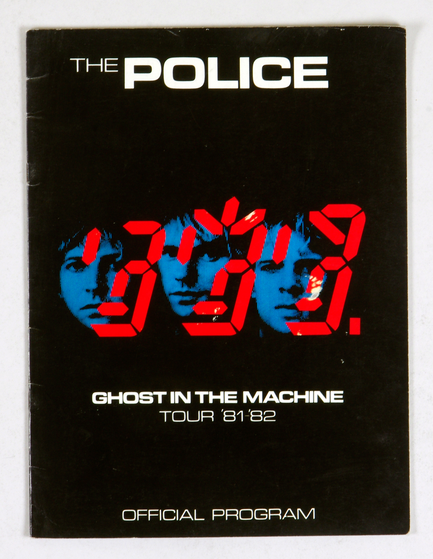 The Police 1981 Ghost In The Machine Tour Program Book