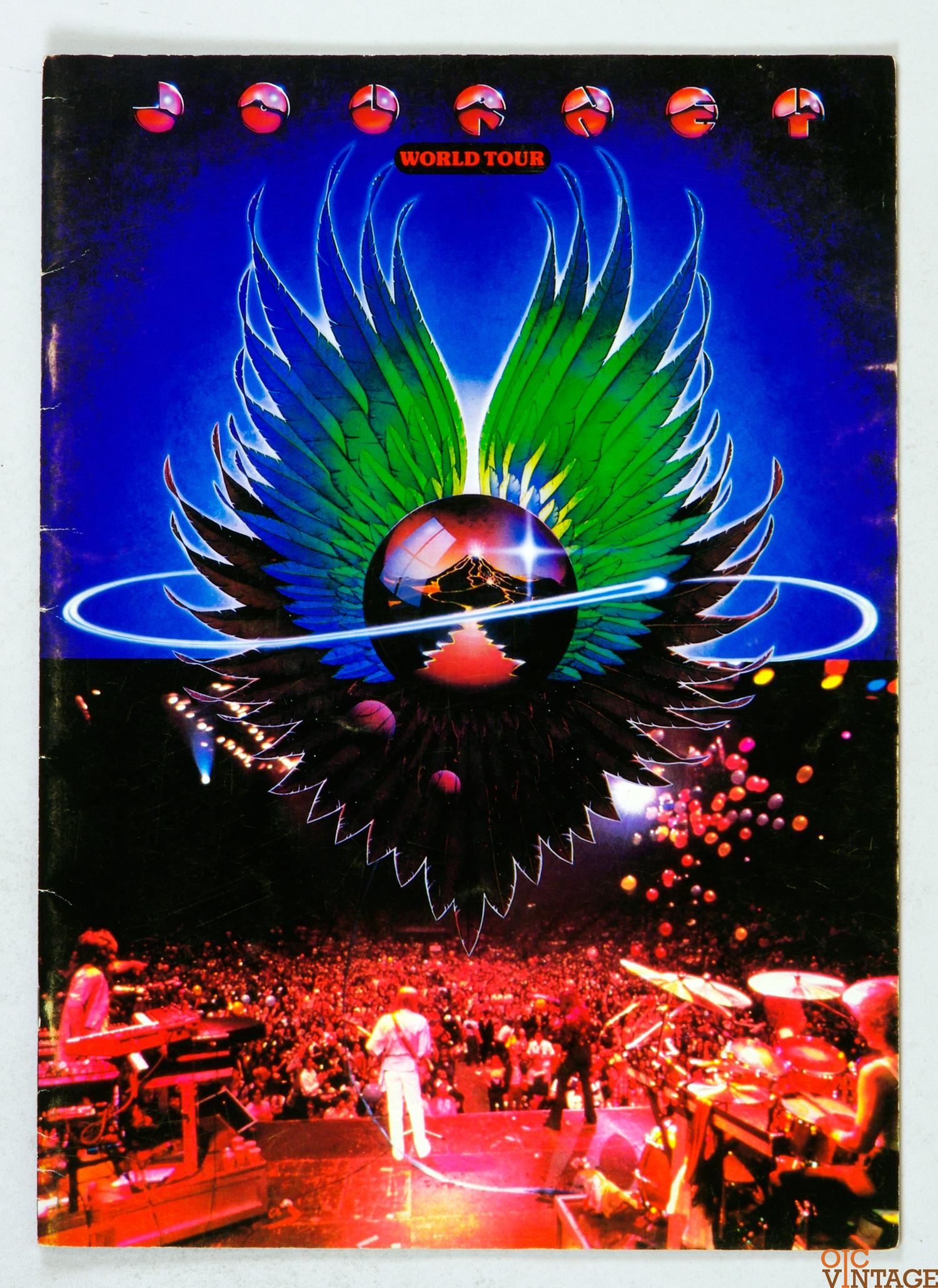 Journey 1979 World Tour Program Book Cover Art Stanley Mouse Alton Kelley
