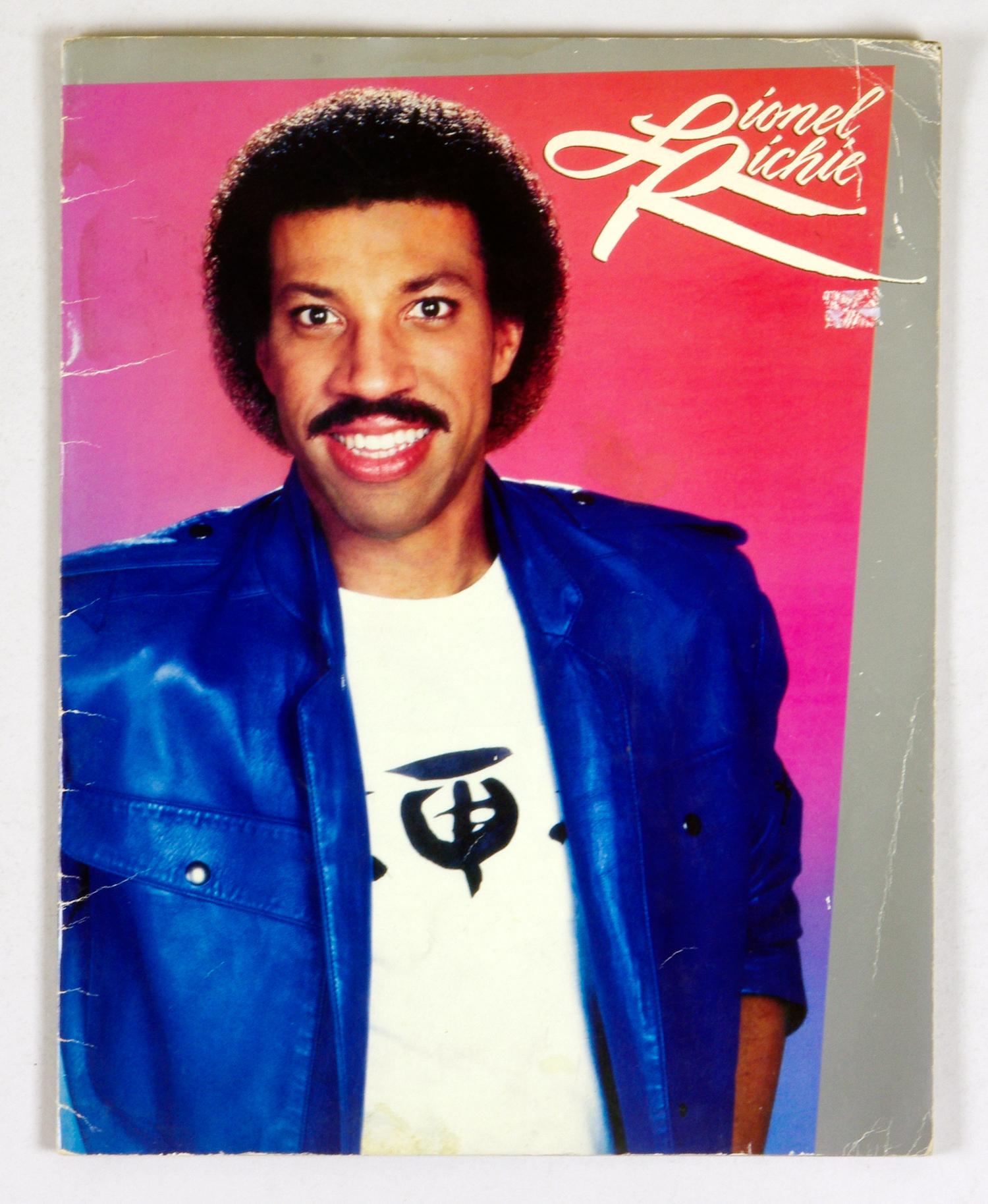 Lionel Richie 1983 World Tour Program Book