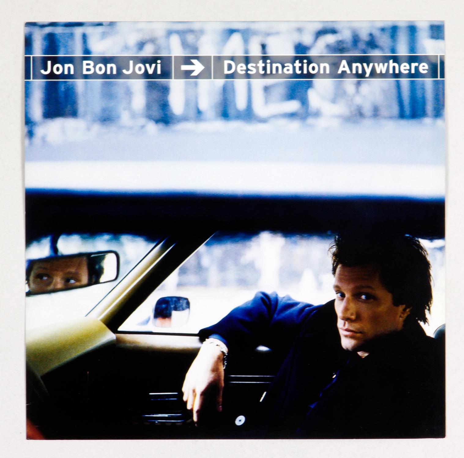 Jon Bon Jovi Poster Flat 1997 Destination Anywhere Album Promotion 12 x 12