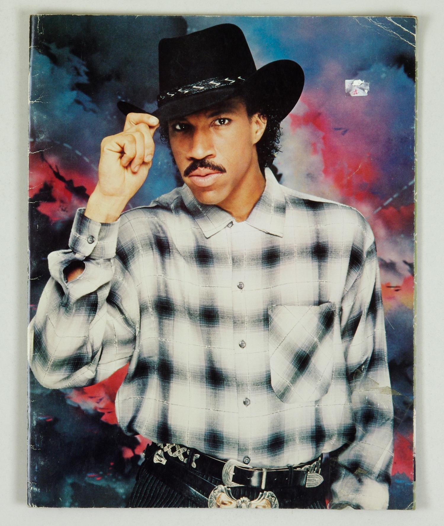 Lionel Richie 1984 Tour Program Book