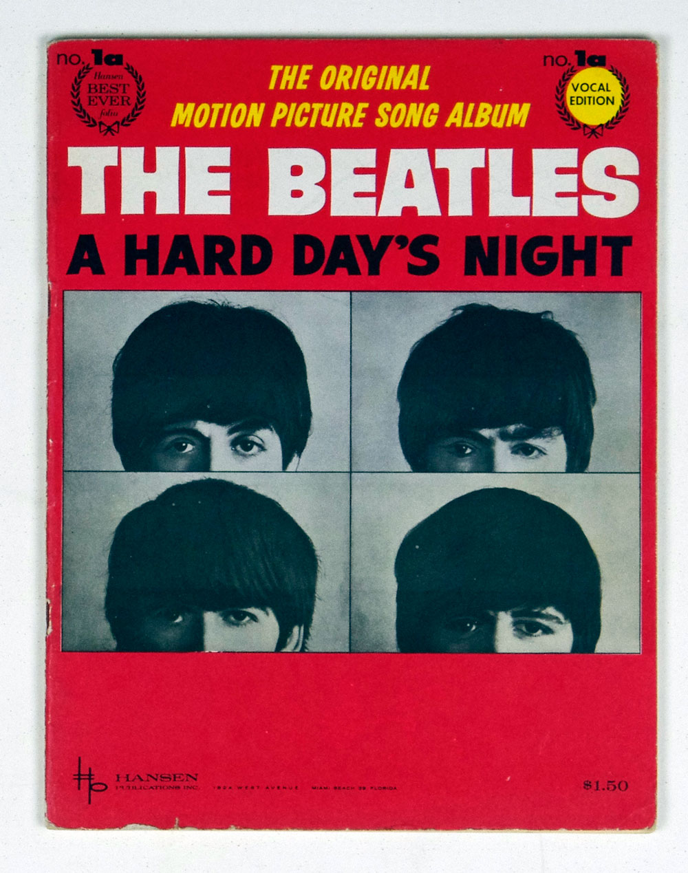 The Beatles Song Book 1964 A Hard Day's Night
