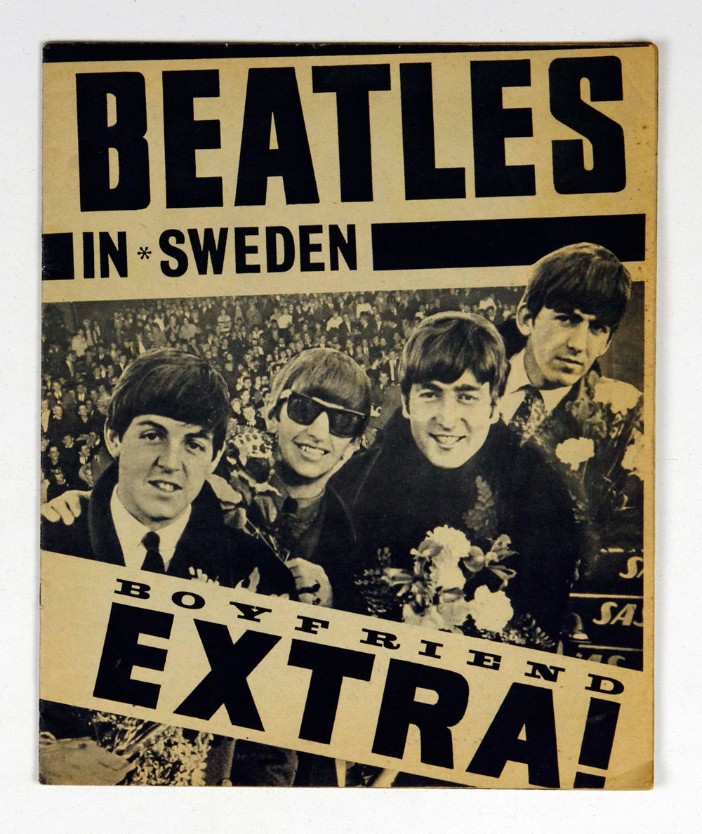 The Beatles Magazine 1963 Sweden France