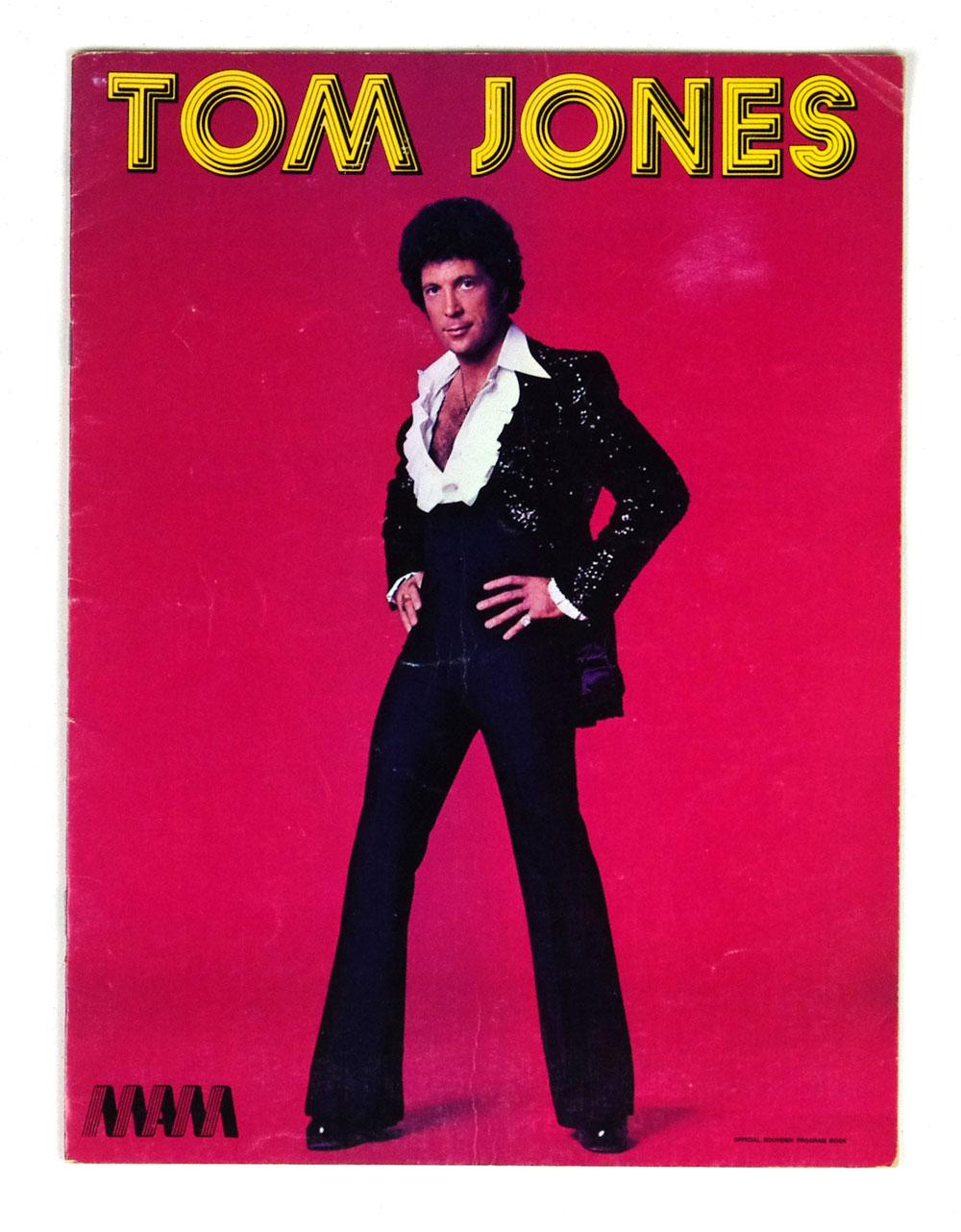 Tom Jones 1977 Tour Program Book