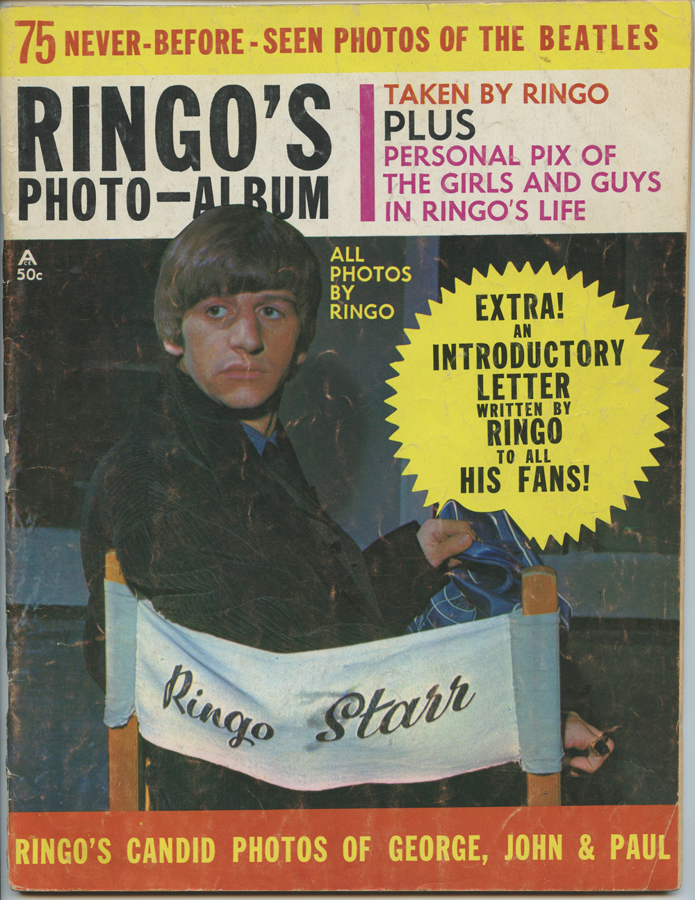 The Beatles Magazine Back Issue Ringo's Photo Album 1964