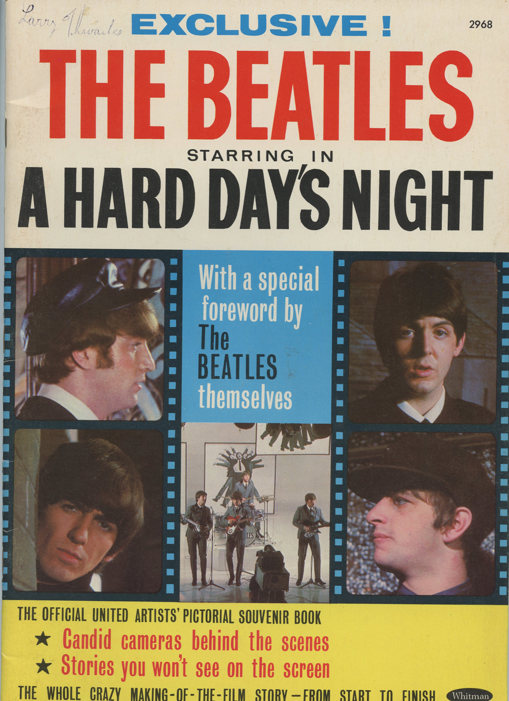 The Beatles Magazine Back Issue 1964 A Hard Day's Night Exclusive!