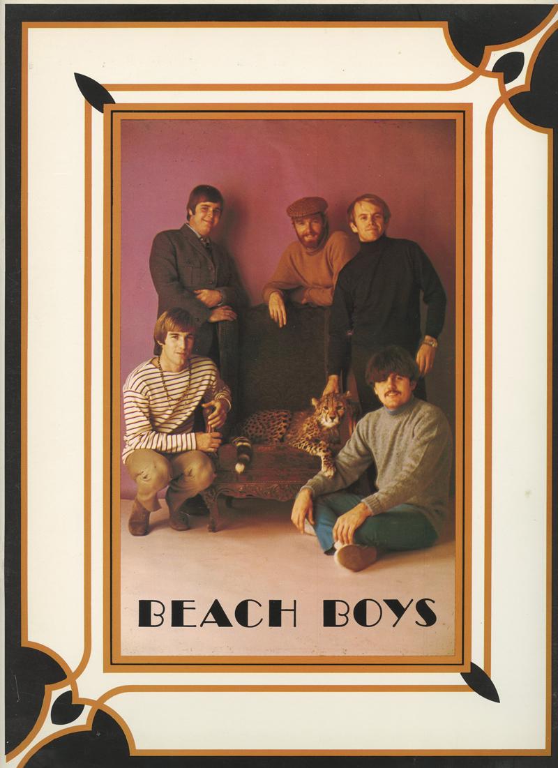 The Beach Boys 1968 Tour Program Book