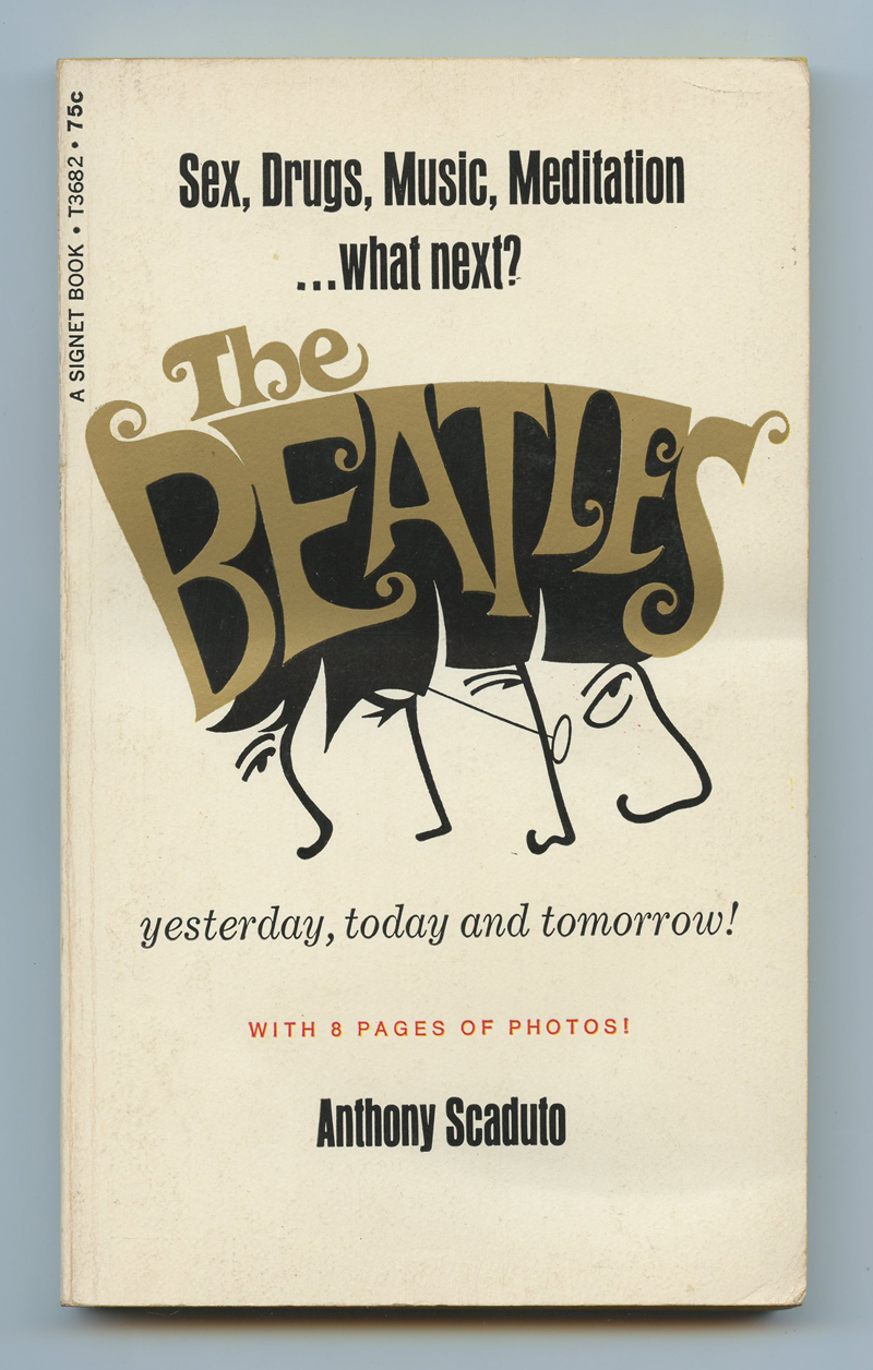 The Beatles Book Yesterday Today Tomorrow 1968 Paperback
