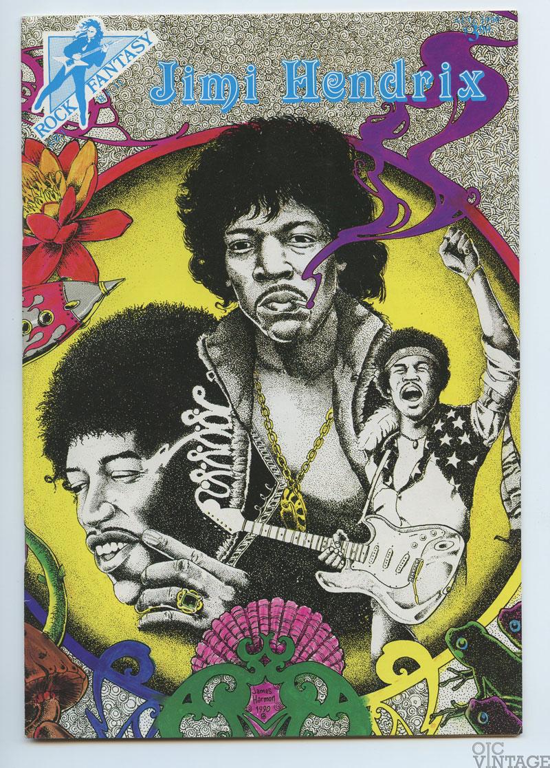 Rock Fantasy Comic Jimi Hendrix JH-1 1989 Sep