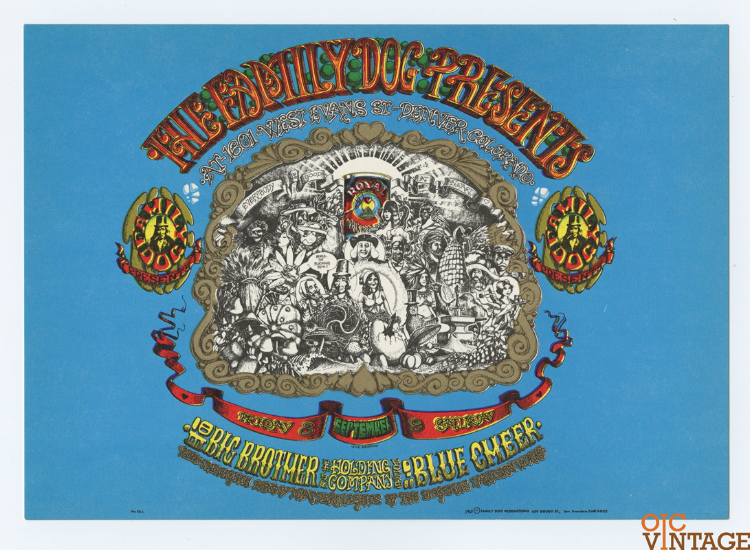 FD  79 Denver  1 Postcard Denver Opening 1967 Sep 8