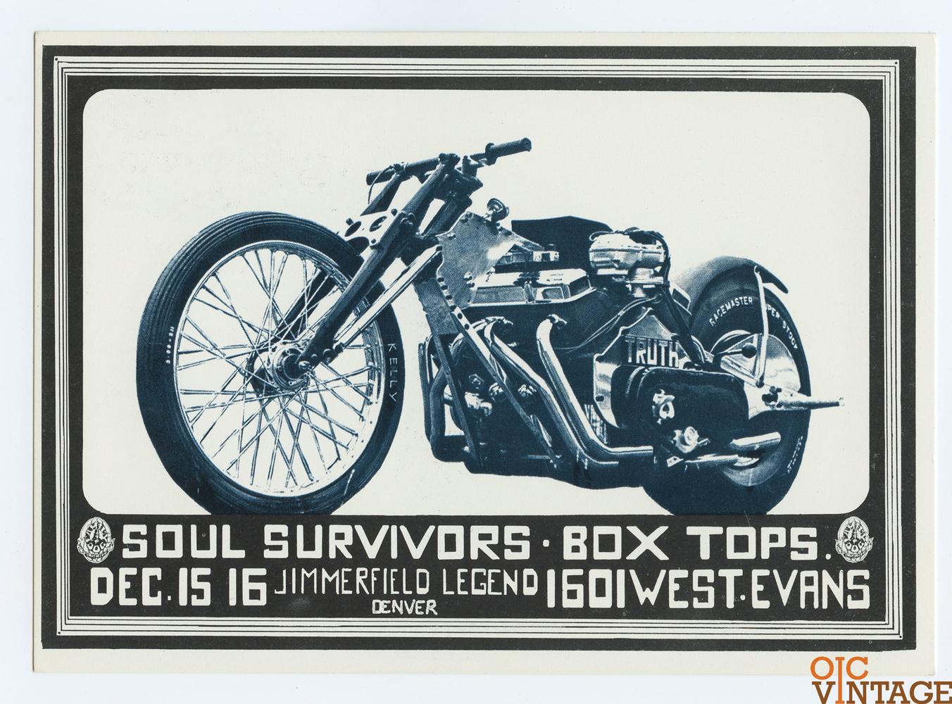 FDD 15 Postcard Soul Survivors Box Tops 1967 Dec 15