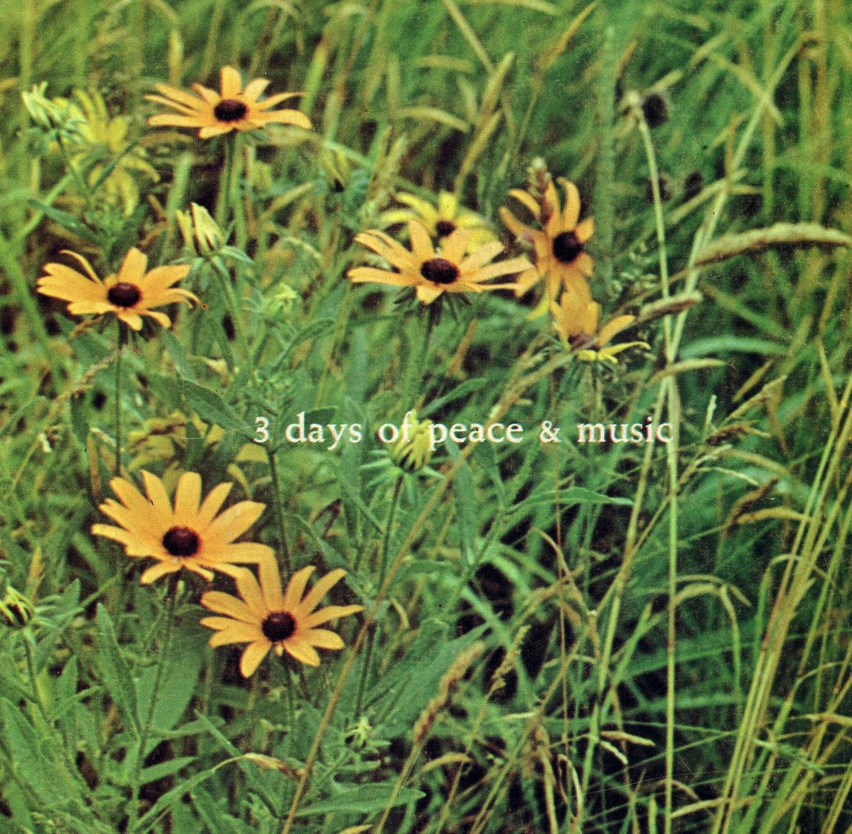 Woodstock Festival 3 days of Peace and Music 1969 Program Book Original