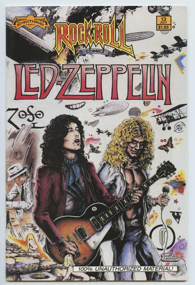 LED ZEPPELIN Rock N' Roll Comic 1990 July