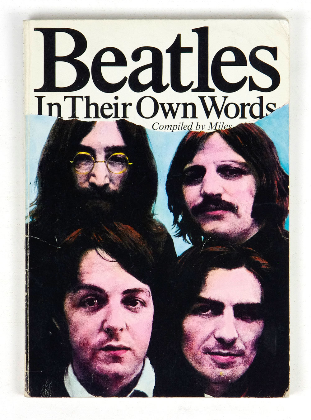 The Beatles In Their Own Words 1978 softcover