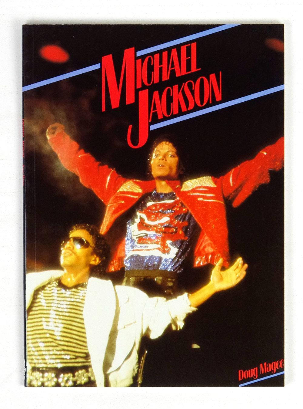 Michael Jackson Paperback 1984 Doug Magee Softcover