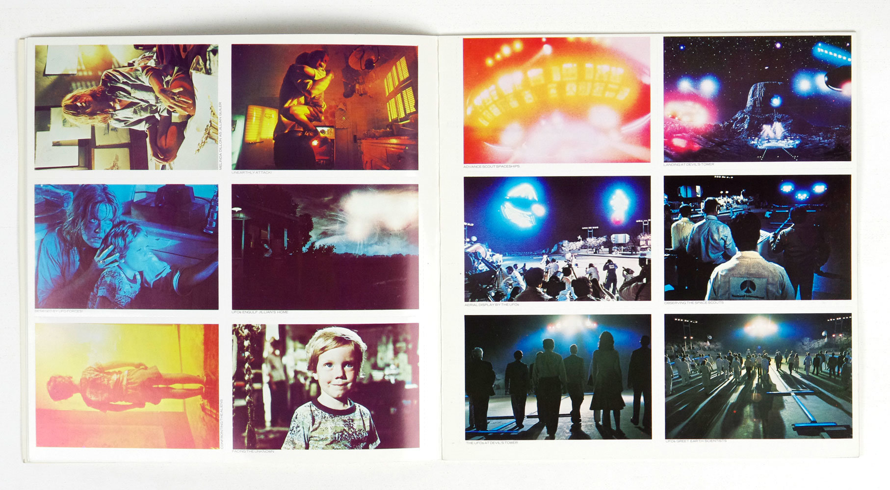 Close Encounters Of The Third Kind Postcard Book 1977