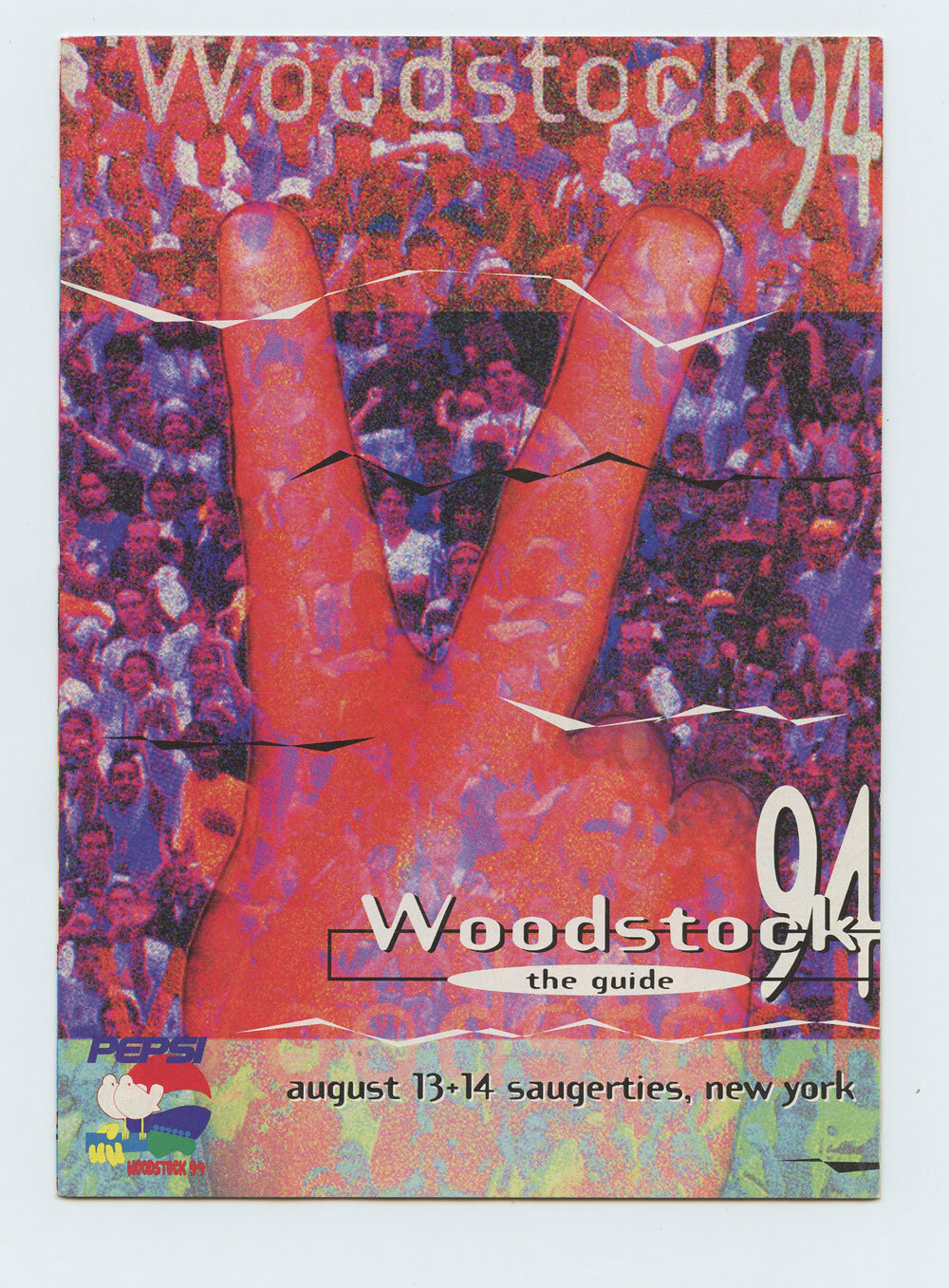 Woodstock 94 Program Guide Book 1994 Aug 13 Saugerties NY