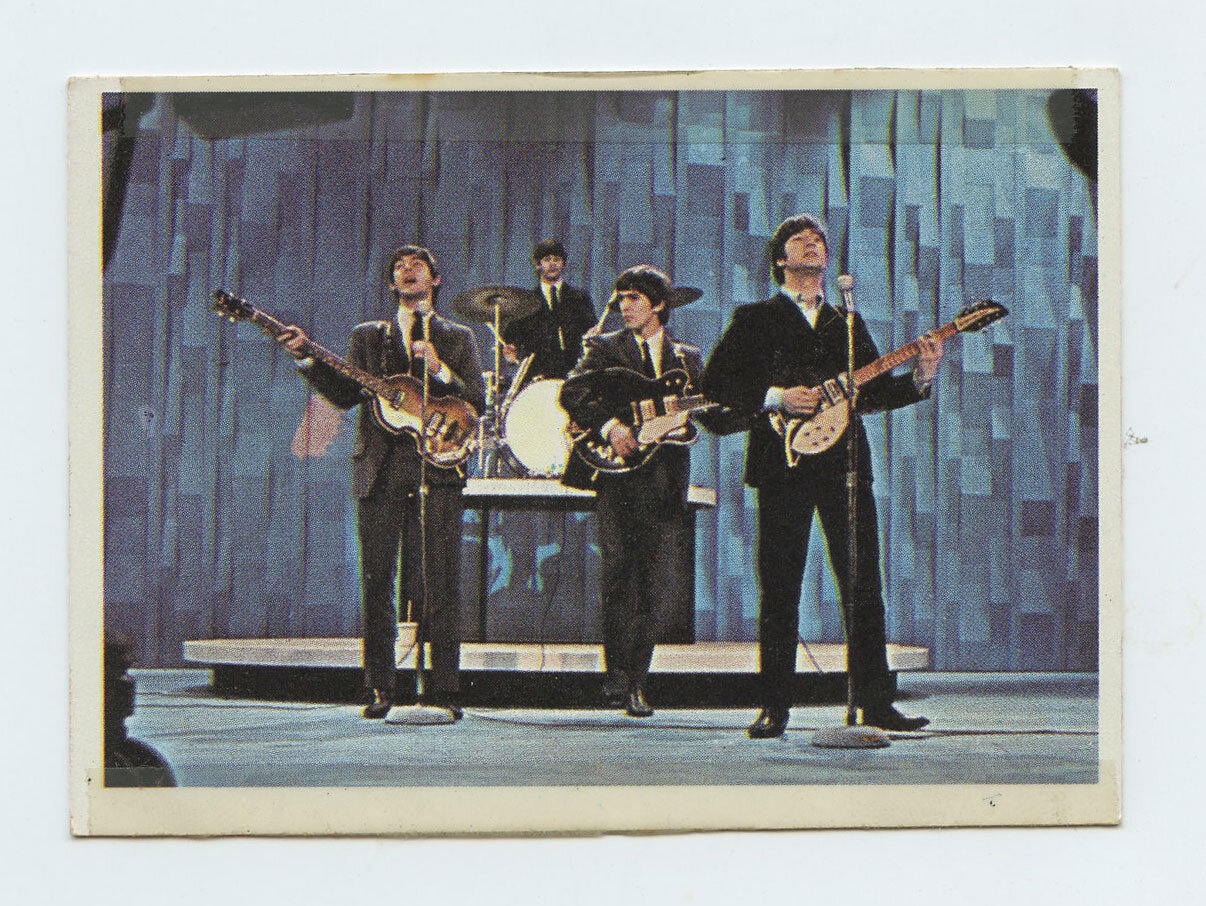 The Beatles Card 1964 Topps Color #17