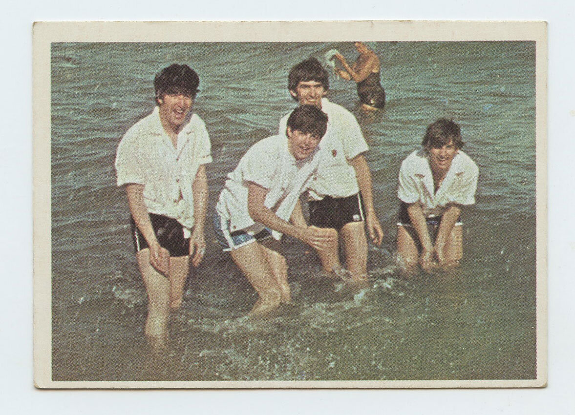 The Beatles Card 1964 Topps Color # 5
