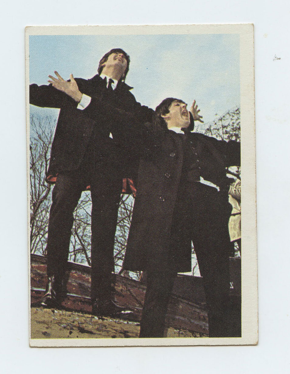 The Beatles Card 1964 Topps Color # 7