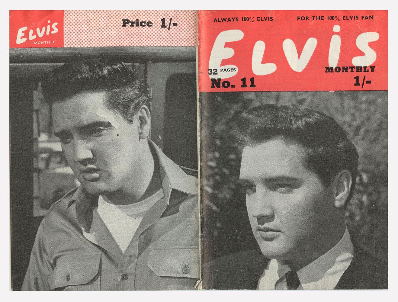 Elvis Monthly Magazine 1962 No. 11