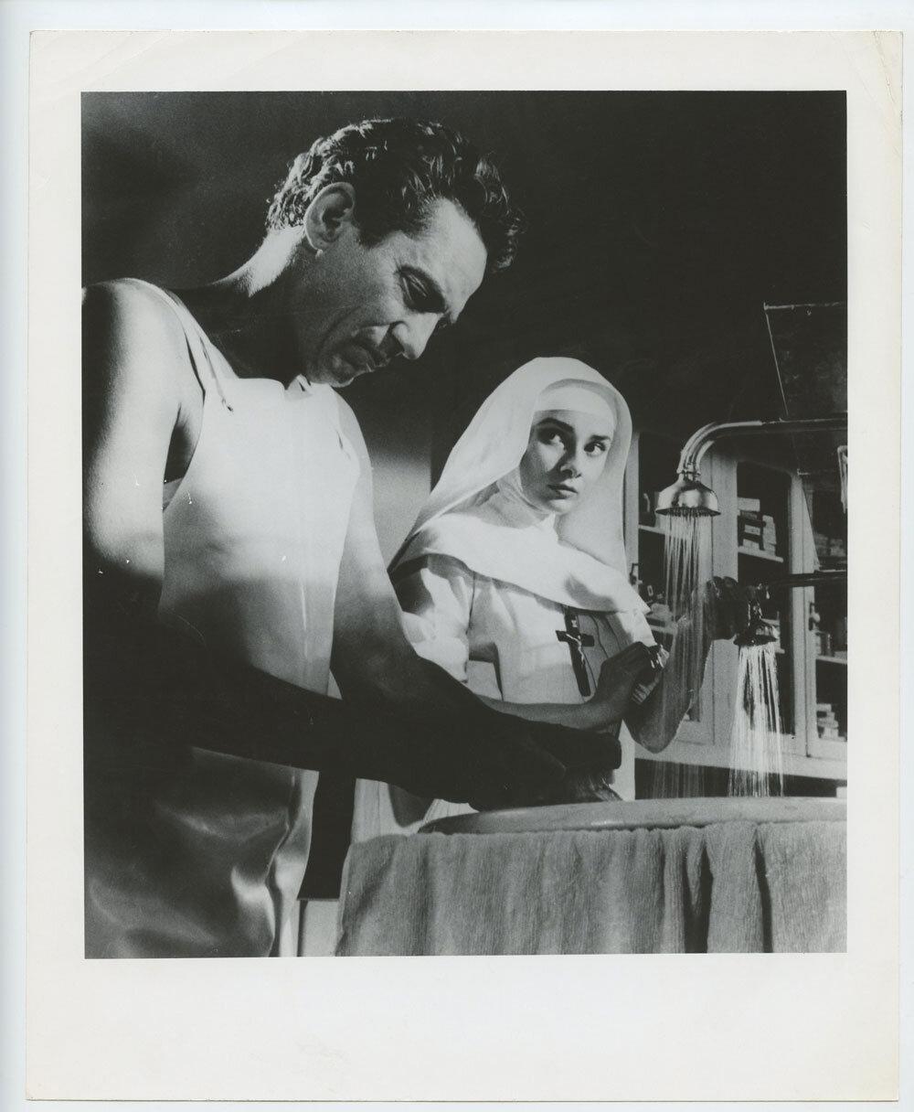 Audrey Hepburn Photograph 1959 The Nun's Story Original Vintage