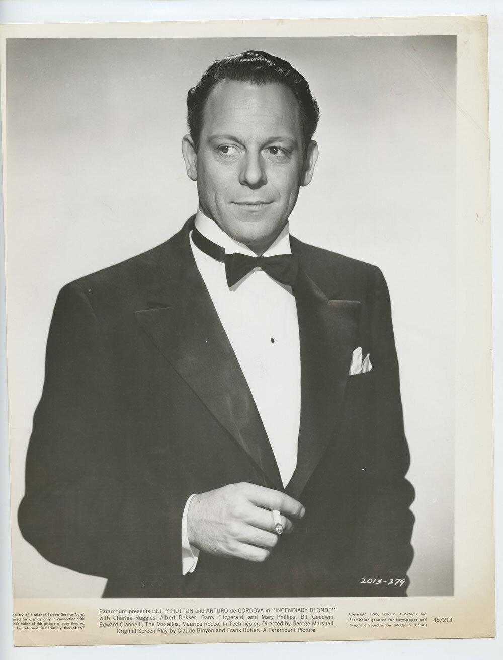 Bill Goodwin Photograph 1944 Incendiary Blonde Original Vintage