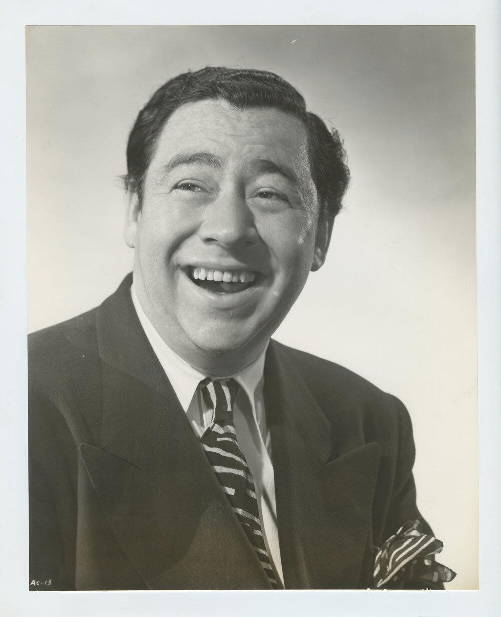 Alan Carney Photograph 1943 Mr. Lucky Original Vintage