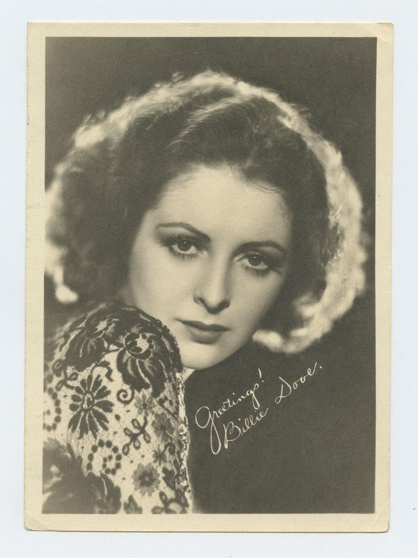 Billie Dove Photograph 1930s Publicity Portrait Original Vintage