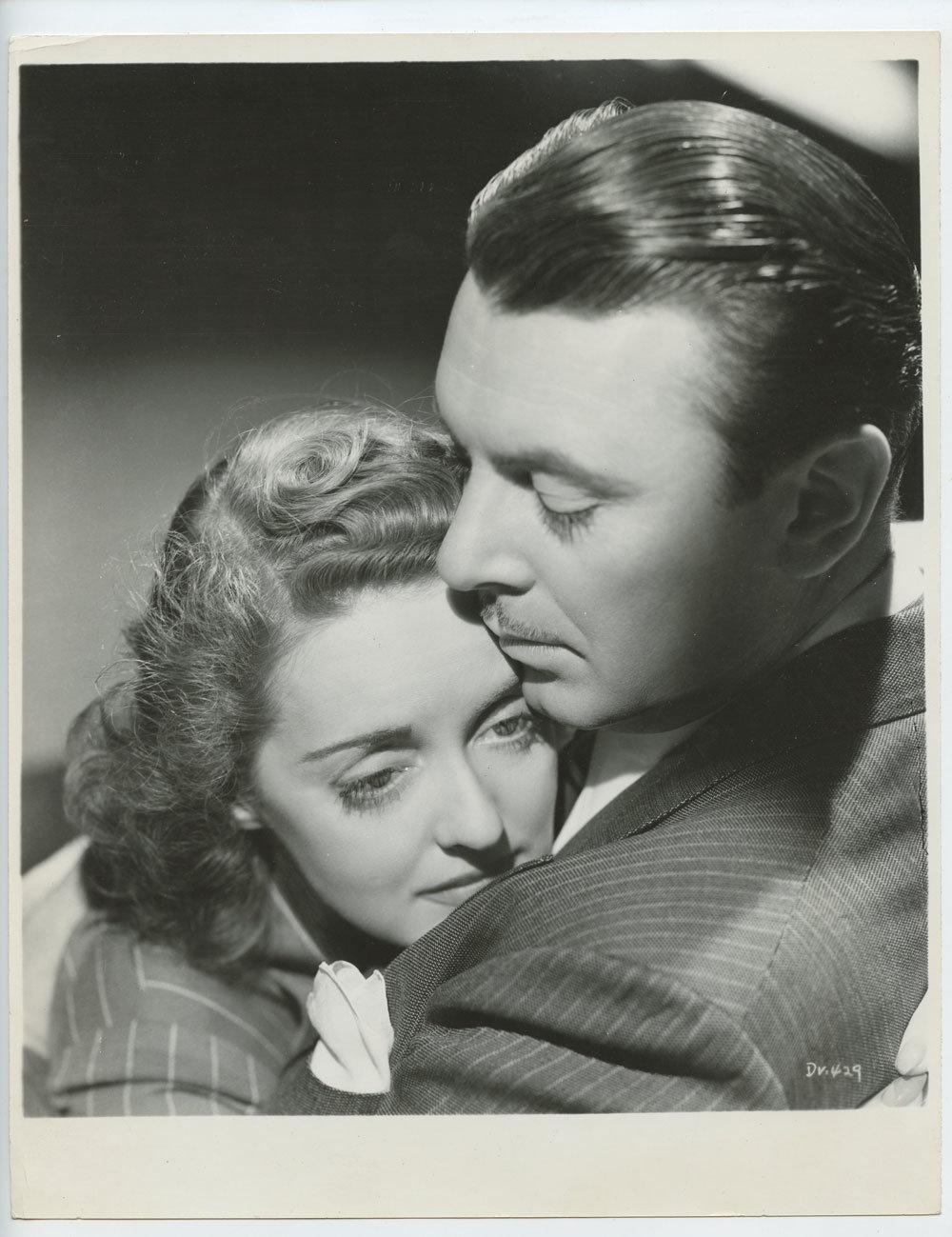 Bette Davis George Brent Photograph 1939 Dark Victory Original Vintage