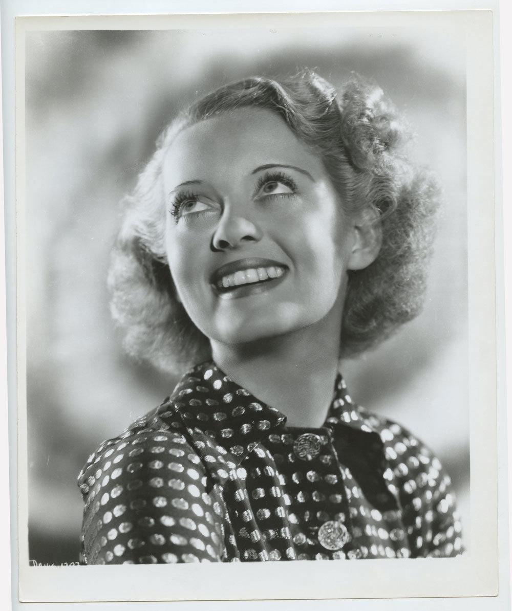Bette Davis Photograph 1940s Warner Bros Publicity Promotion Original Vintage