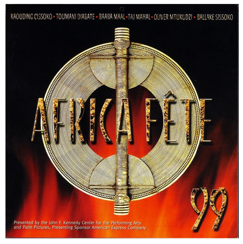 Africa Fete 99 Poster Flat 1999 New CD Album Promotion 12 x 12