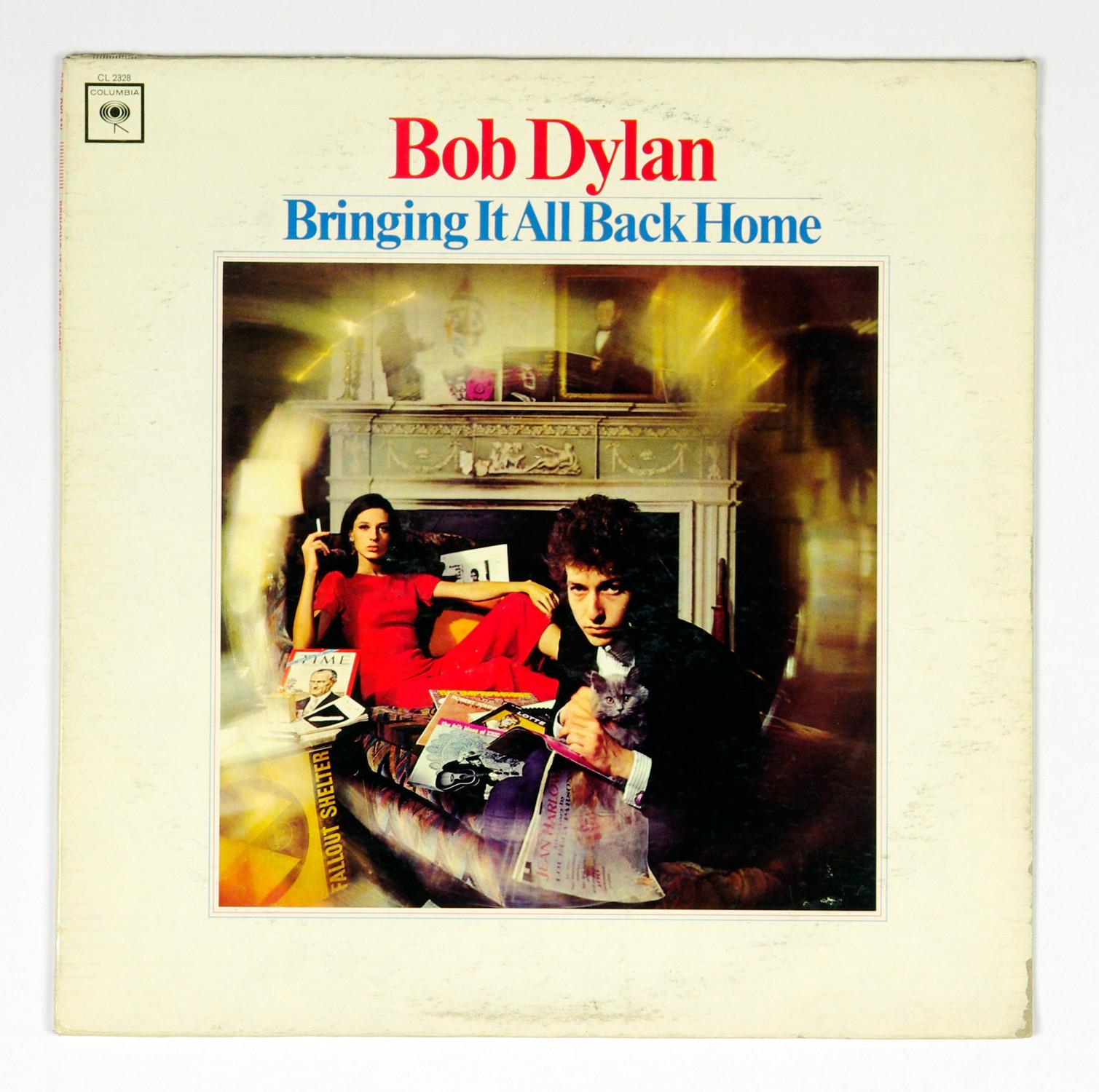 Bob Dylan Vinyl Bringing It All Back Home 1965