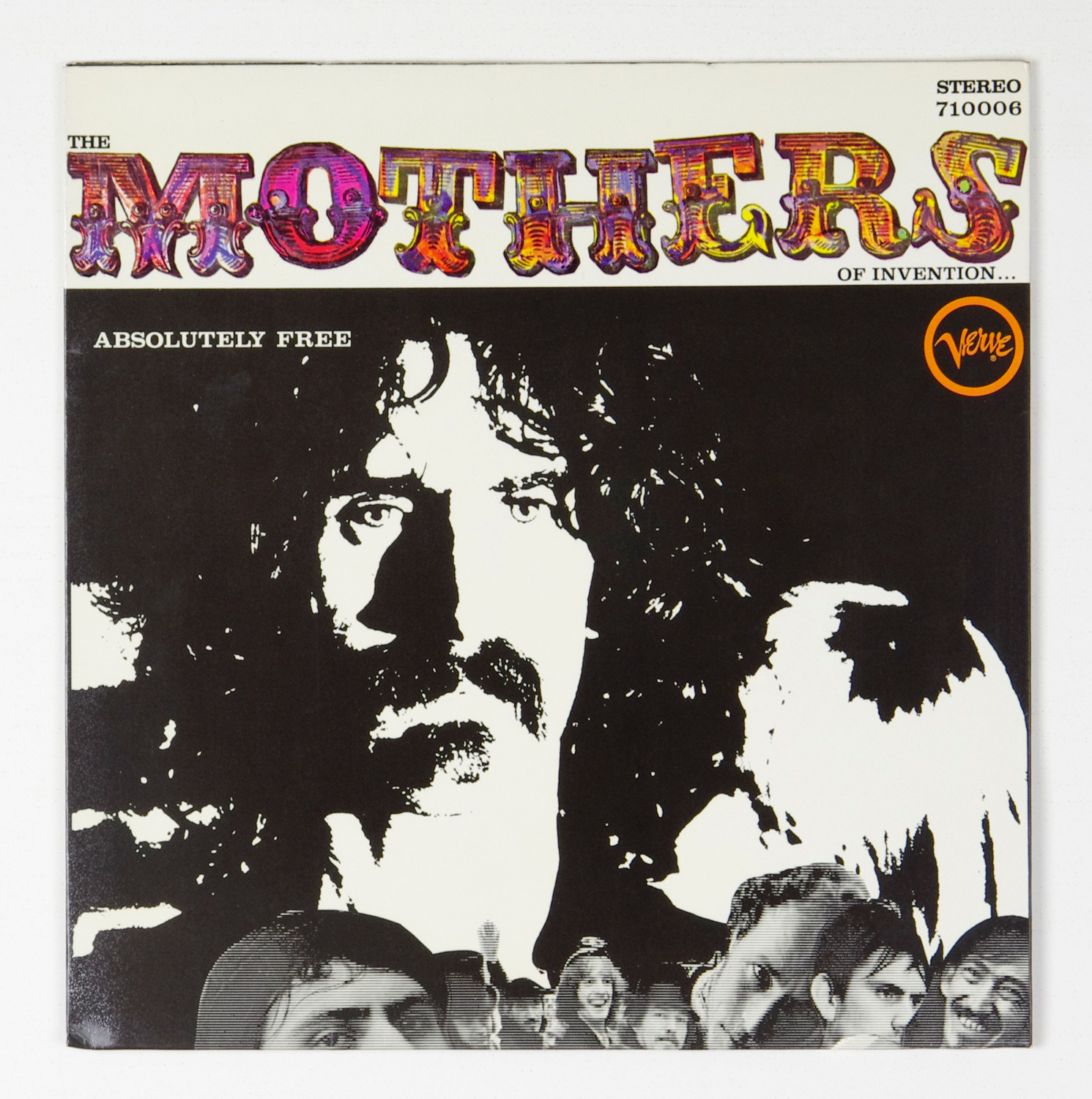 Frank Zappa The Mothers Of Invention Vinyl Absolutely Free 1967 German pressing