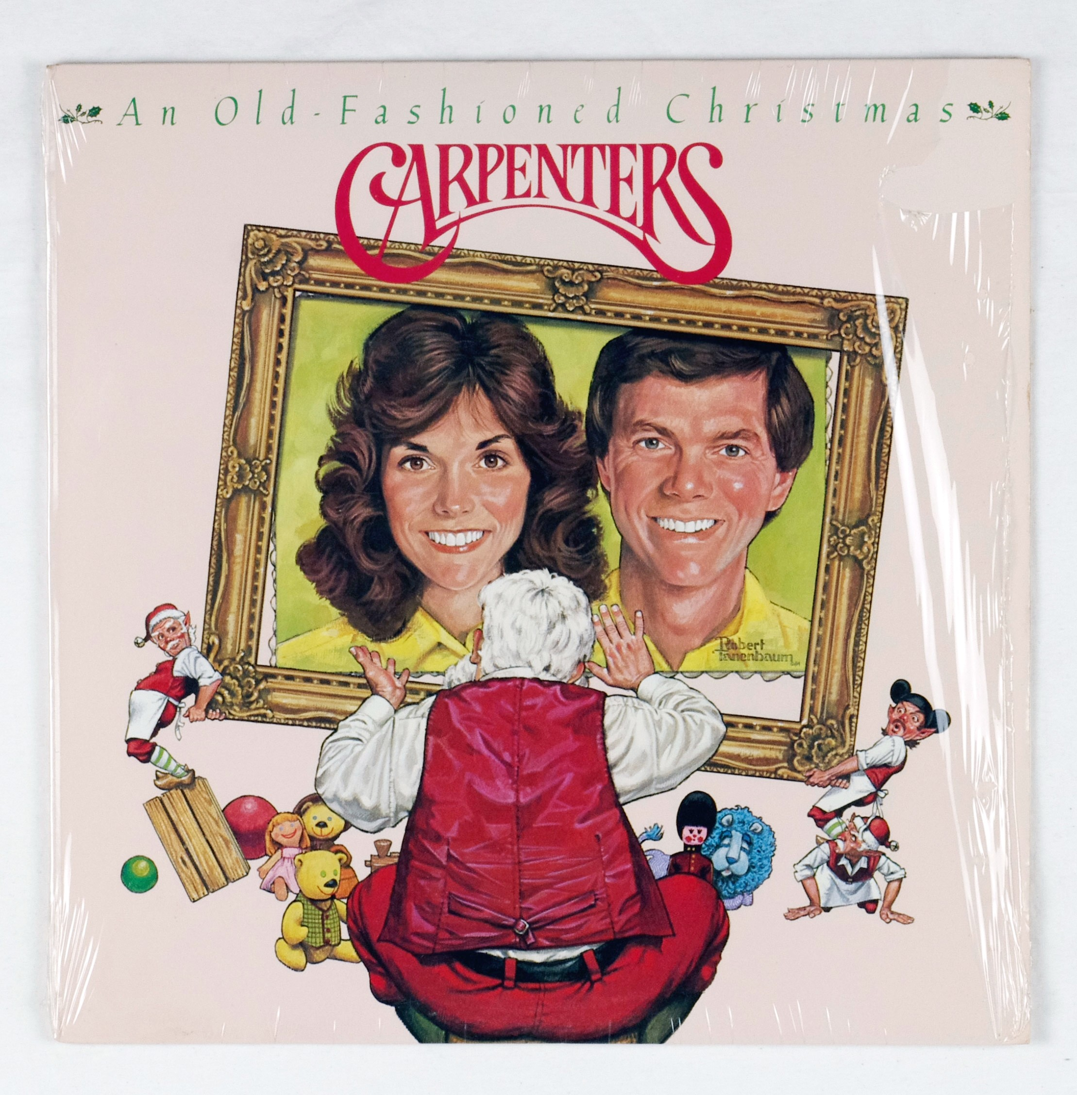 Carpenters Vinyl An Old-Fashioned Christmas 1984