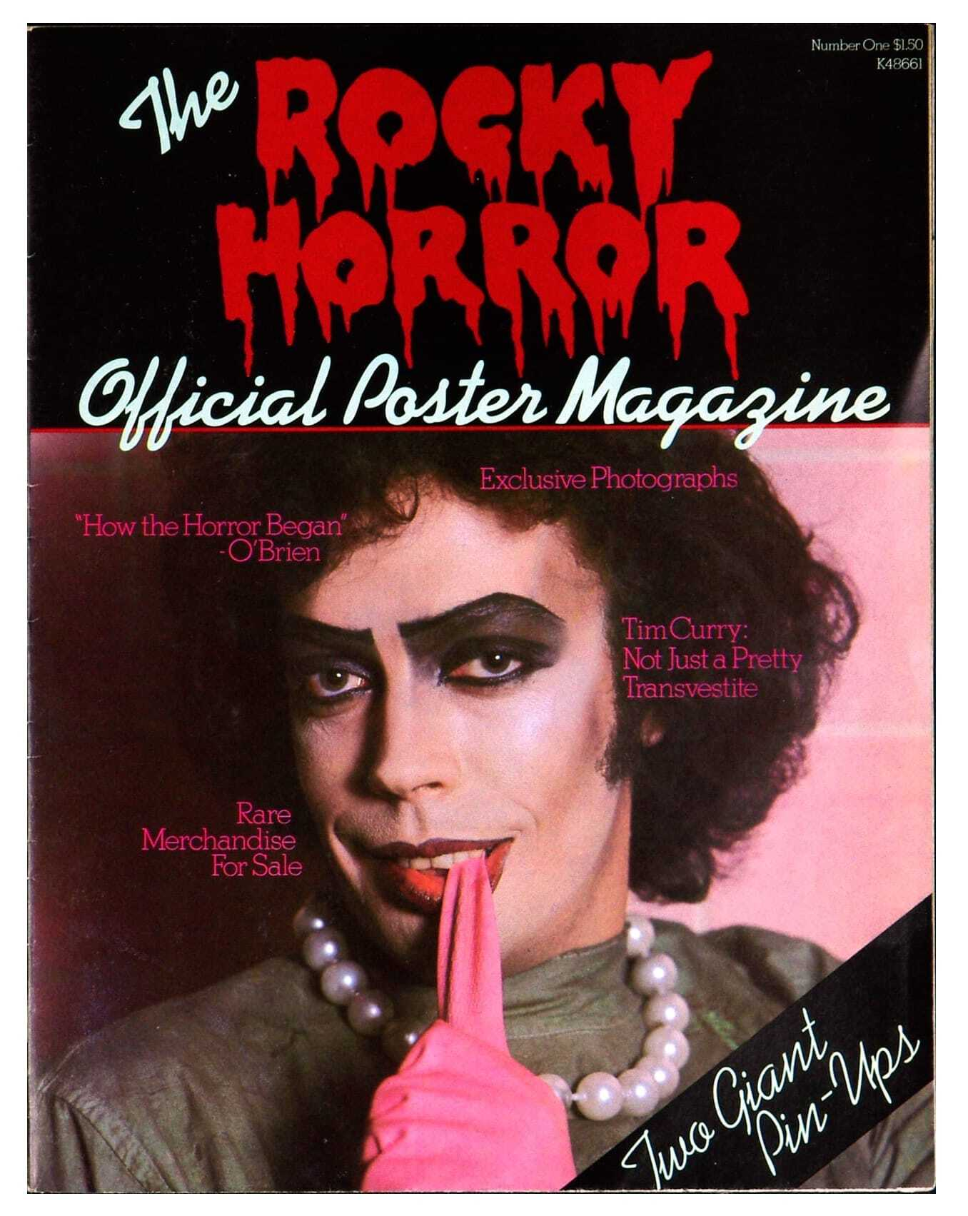 Rocky Horror Poster Official Magazine 1979